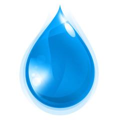 Ikona kropli wody - fototapety na wymiar