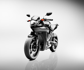 Brandless Motorcycle Motorbike Vehicle Concept