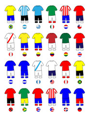 Americas Jerseys Football Kits