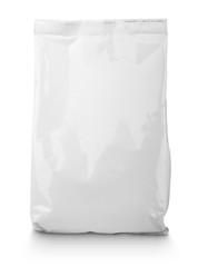 White blank Snack bag package