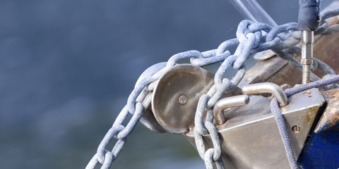 Boat chain detail