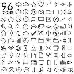 96 Icons