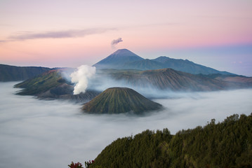 Bromo volcano Fototapete