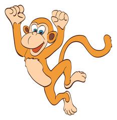 Танцующая обезьянка