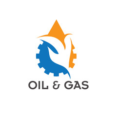 oil and gas industry vector design template