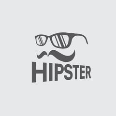 hipster retro vector design template