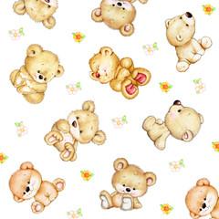 Set of baby Teddy bears