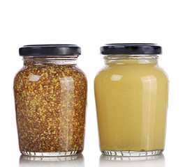Mustard Sauce and Whole Grain Mustard
