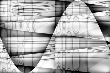 Kurvenverlauf als Grafik in Grau