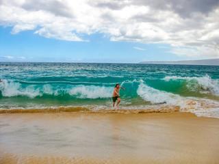 Powerful waves Maui