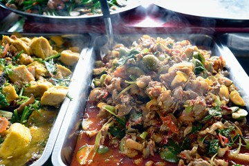 Stir Fried Wild Boar with Red Curry