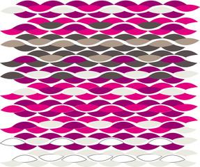 Knitting yarn print