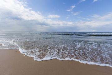 Krajobraz Morza Bałtyckiego, Karwia, Polska