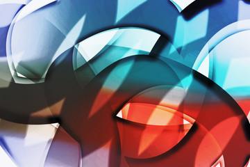 Expressionistische Phantasie voller Kraft