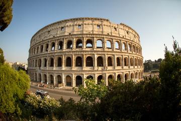 Das Kolosseum Colosseo in Rom Italien