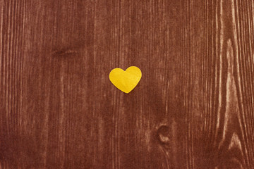 heart on wood texture