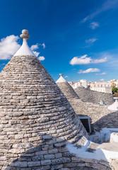 Alberobello, Apulia. Famous Trulli homes