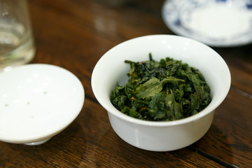 Tie Guanyin a variety of oolong tea 3