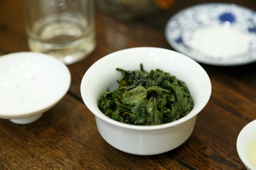 Tie Guanyin a variety of oolong tea 2