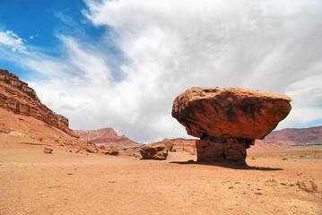 Balanced Rock / balanced rock formations near Marble Canyon Arizona