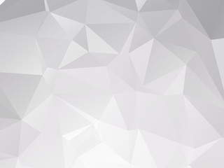 Silver Triangular Background