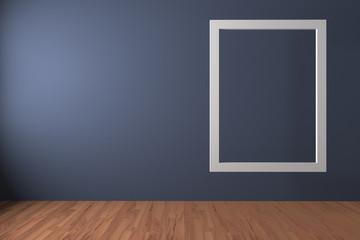 White frame float