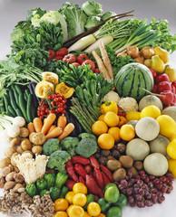 野菜とフルーツ大集合