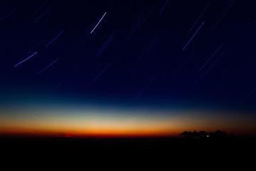 Mediterraner Nachthimmel
