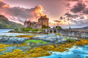 Fotobehang Kasteel Eilean Donan Castle