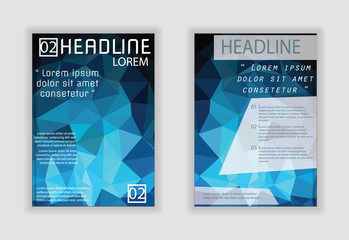 Annual Brochure Flyer Poster in A4 size Modern