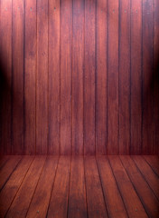Wood texture pattern background and lighting.