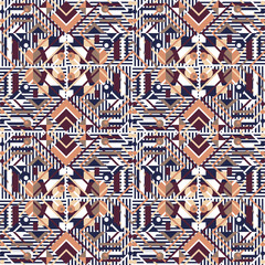 Seamless background with geometric patterns.