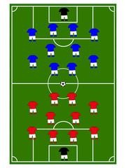 Football Teams Formation
