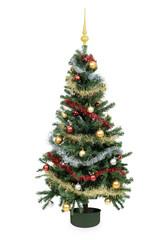Weihnachtsbaum Dekoration Weihnachtskugeln Lametta