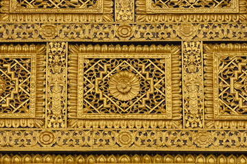 Ancient traditional Thai style texture.