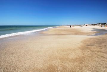 El Palmar beach, Spain.