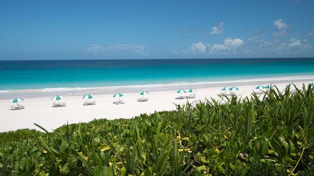 Traumstrand auf Harbour Island, Bahamas