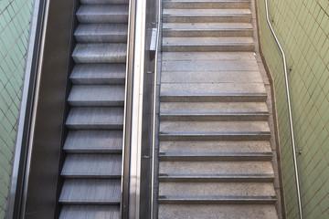 Treppe Rolltreppe