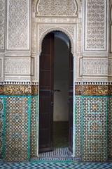 Bou Inania Medersa, Medina, UNESCO World Heritage Site, Meknes, Meknes-Tafilalet, Morocco, North Africa, Africa