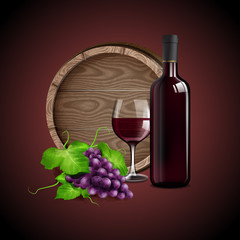 BANNER FOR RED WINE