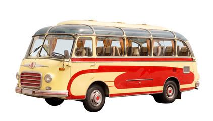 schöner alter oldtimer-bus