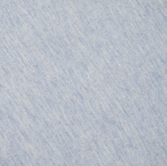 Light blue top dye cotton polyester fabric texture background
