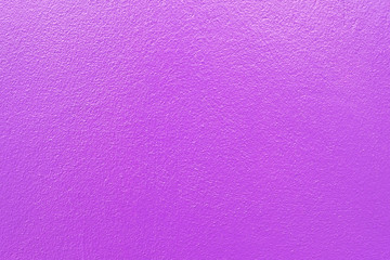 Purple paint on concrete wall texture background