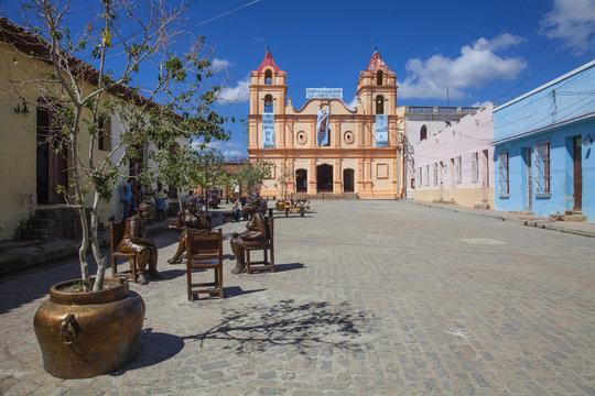 Iglesia de Nuestra Senora del Carmen, Plaza del Carmen, Camaguey, Camaguey Province, Cuba