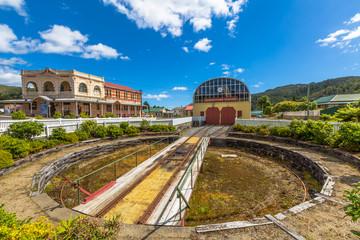 Queenstown Station Tasmania