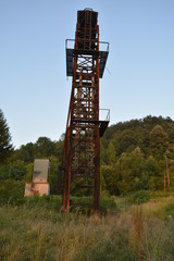 old mining tower makviste