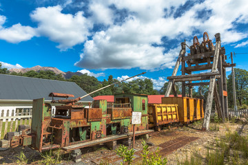 Queenstown Tasmania Historical Artifacts