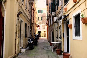 Old street in Corfu