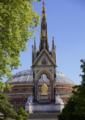 Albert Memorial in Kensington Gardens, London, England, United Kingdom, Europe