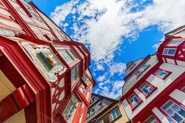 in der Altstadt von Limburg an der Lahn, Hessen, Deutschland